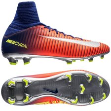 nike mercurial superfly v fg time to shine deep royal blue chrome total