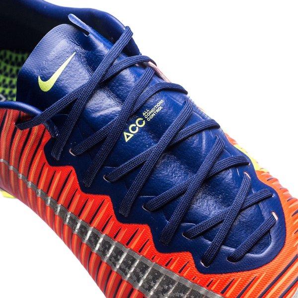 Nike Mercurial Vapor XI FG Time To Shine Bleu MarineChromeOrange