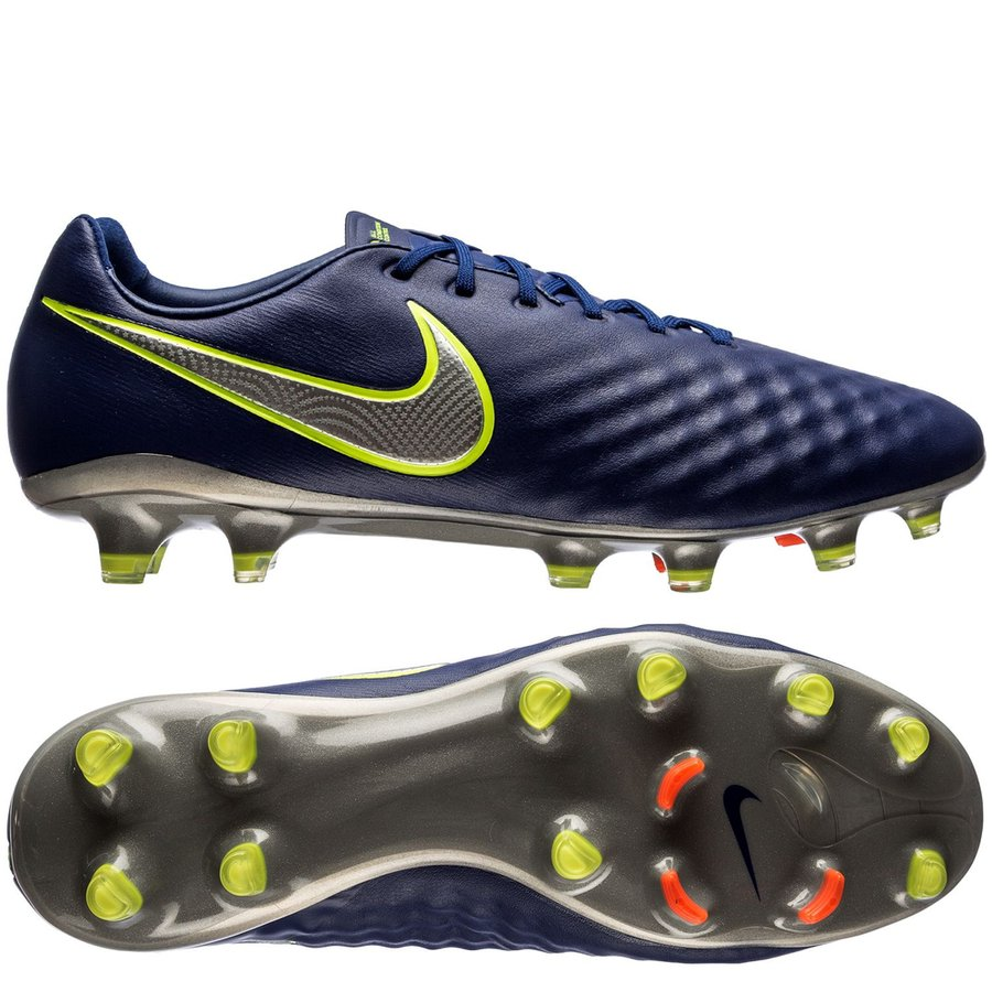 online store deb41 edc4c nike magista opus ii fg time to shine - deep royal bluechrometotal ...