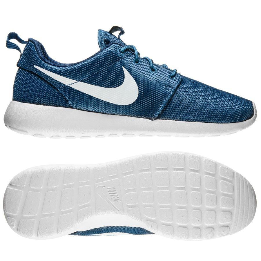 sale retailer 4d894 cd46b ... promo code for nike roshe one blå hvit sneakers ee4d7 b94f9