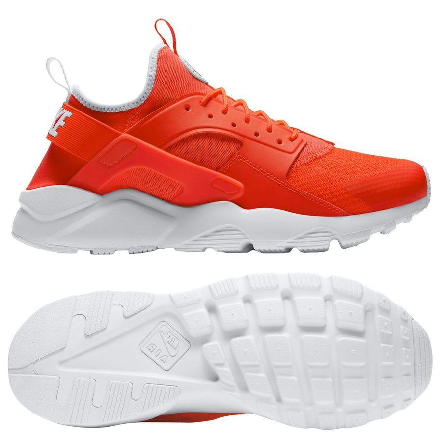 d8734ab8c04b nike air huarache run ultra - bright crimson pale grey white - sneakers ...