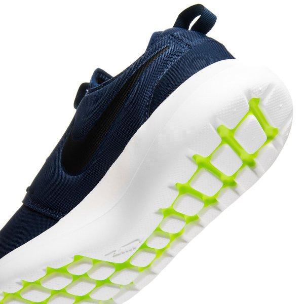 detailed look 264fc 832ec ... nike roshe two - bleu marinenoirblanc casséjaune fluo - sneakers