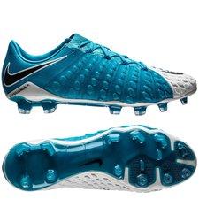 Nike Hypervenom Phantom 3 FG Motion Blur - Wit/Zwart/Blauw