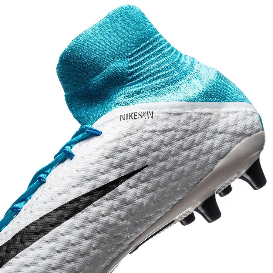 timeless design 71f7a f930f Nike Hypervenom Phatal 3 DF AG-PRO Motion Blur - Vit Svart Blå    www.unisportstore.se