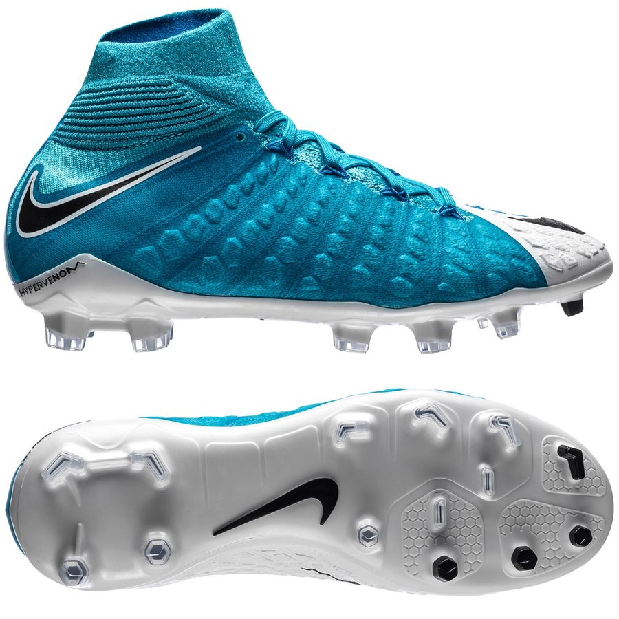 san francisco 2e1de b63f2 Nike Hypervenom Phantom 3 DF FG Motion Blur - White/Black ...