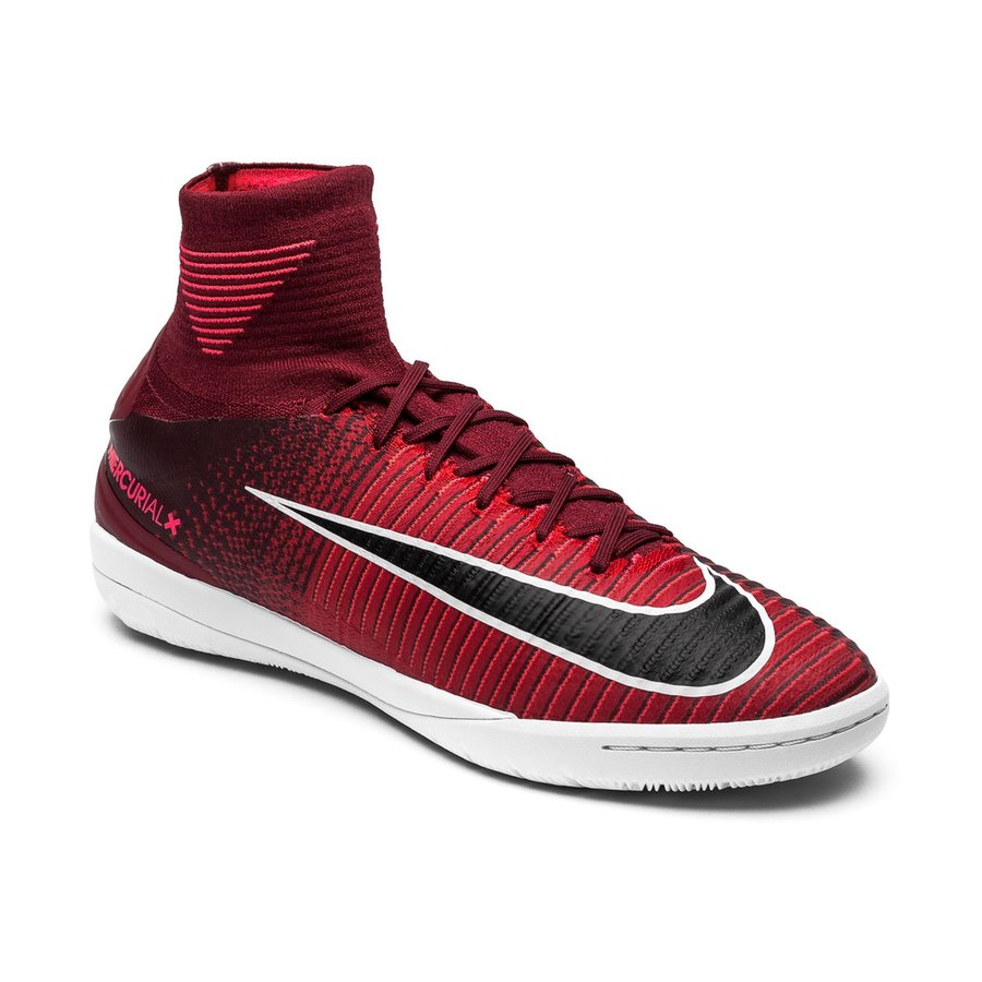 3eb3212de Nike MercurialX Proximo II DF IC Motion Blur - Team Red Black Racer Pink