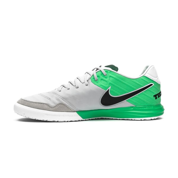 df5fd52ef42d Nike TiempoX Proximo IC Motion Blur - Pure Platinum/Electro Green ...