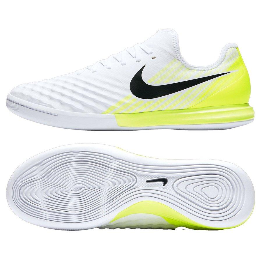 nike magistax finale ii ic motion blur - blanc/jaune fluo - chaussures  indoor