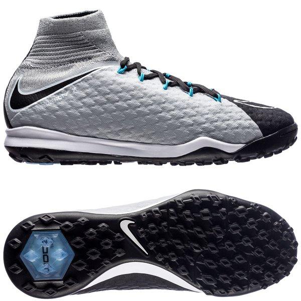 size 40 5f2bc 08048 Nike HypervenomX Proximo 2 DF TF Chasing Shadows - Wolf Grey Black Chlorine  Blue Kids   www.unisportstore.com