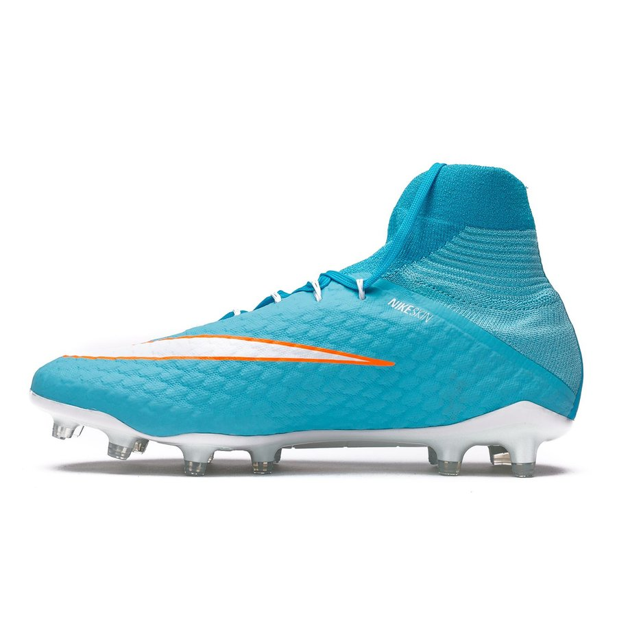 a525a2662 Nike Hypervenom Phatal 3 DF FG Motion Blur - Polarized Blue White Chlorine  Blue Woman