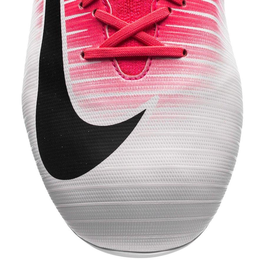 Nike Mercurial Superfly V FG Motion Blur RosaSortHvit Barn