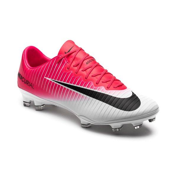 sélection premium 033c0 e4e0d Nike Mercurial Vapor XI FG Motion Blur - Rose/Noir/Blanc ...
