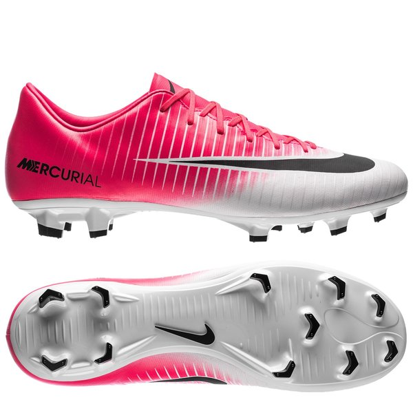 new release entire collection special for shoe Nike Mercurial Victory VI FG Motion Blur - Racer Pink/Black/White
