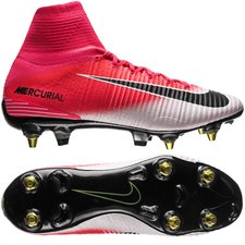 Nike Mercurial Superfly V SG-PRO - Pink/Sort/Hvid
