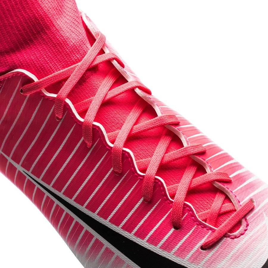 Nike Mercurial Victory VI DF FG Motion Blur RosaSvartVit