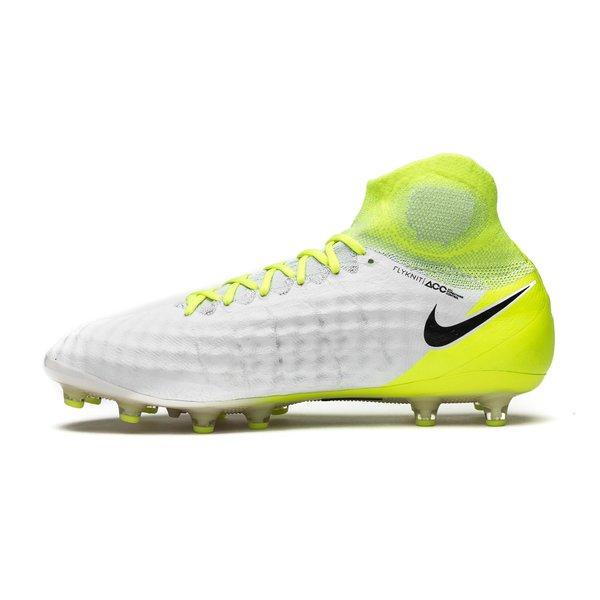 4b72215d9ad39 Nike Magista Obra II AG-PRO Motion Blur - Hvit Neon Grå 1