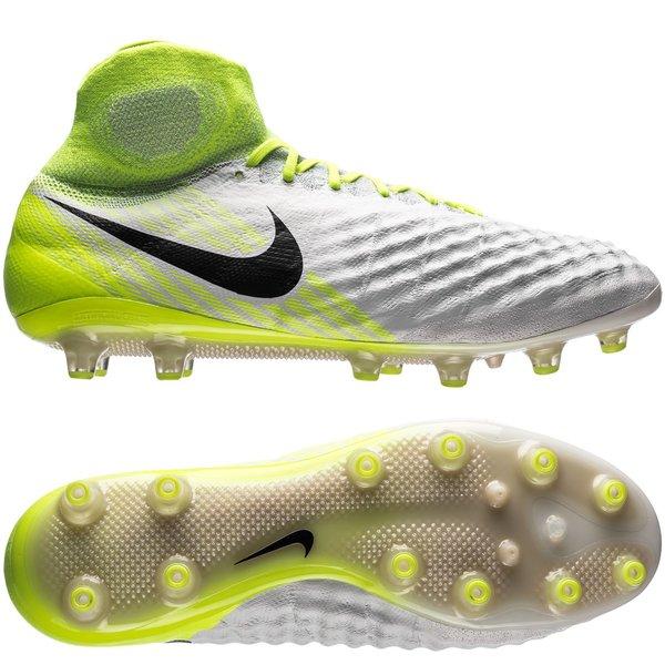 07477dabd35b3 Nike Magista Obra II AG-PRO Motion Blur - Hvit Neon Grå 0