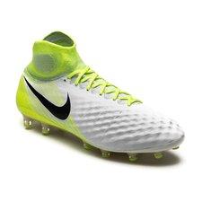 beecd77b7d558 Nike Magista Obra II AG-PRO Motion Blur - Hvit Neon Grå