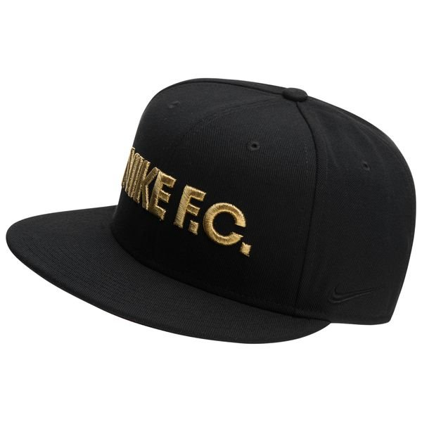 picked up autumn shoes new authentic Nike F.C. Casquette Snapback True - Noir/Doré