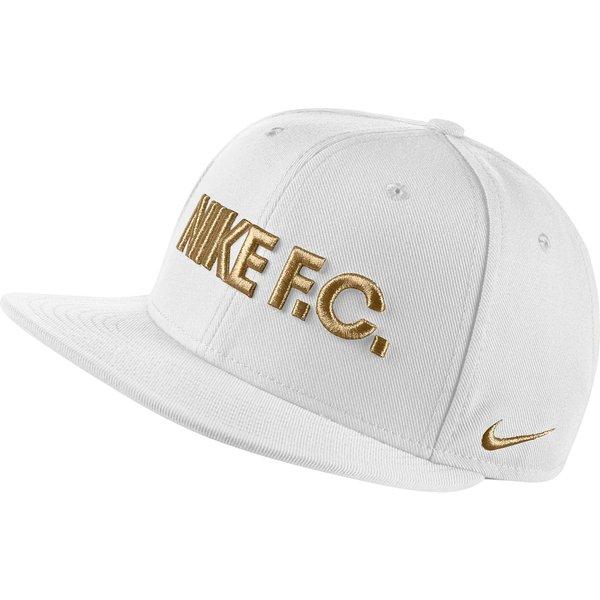 d4aa86173 Nike F.C. Cap Snapback True - White/Black/Metallic Gold | www ...