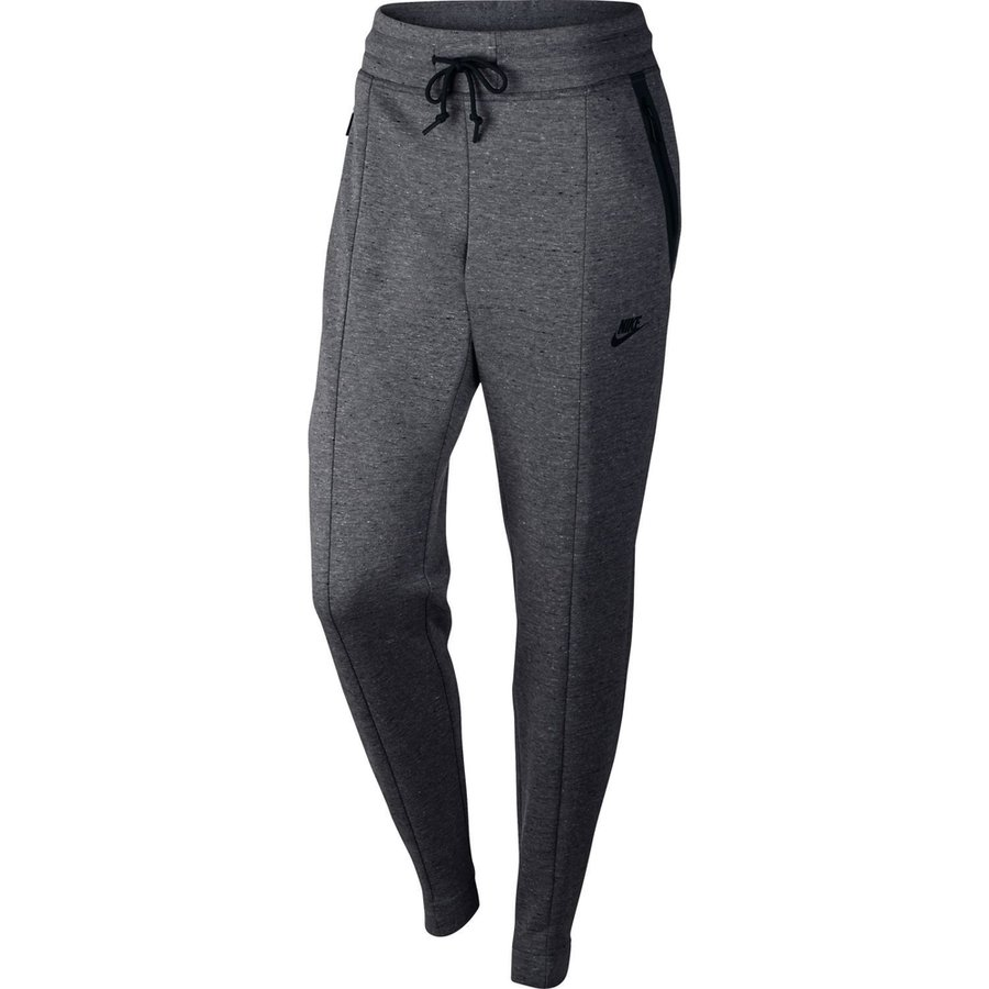 nike hose tech fleece grau schwarz damen. Black Bedroom Furniture Sets. Home Design Ideas