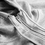 nike sportswear hættetrøje fleece - grå/hvid - hættetrøjer