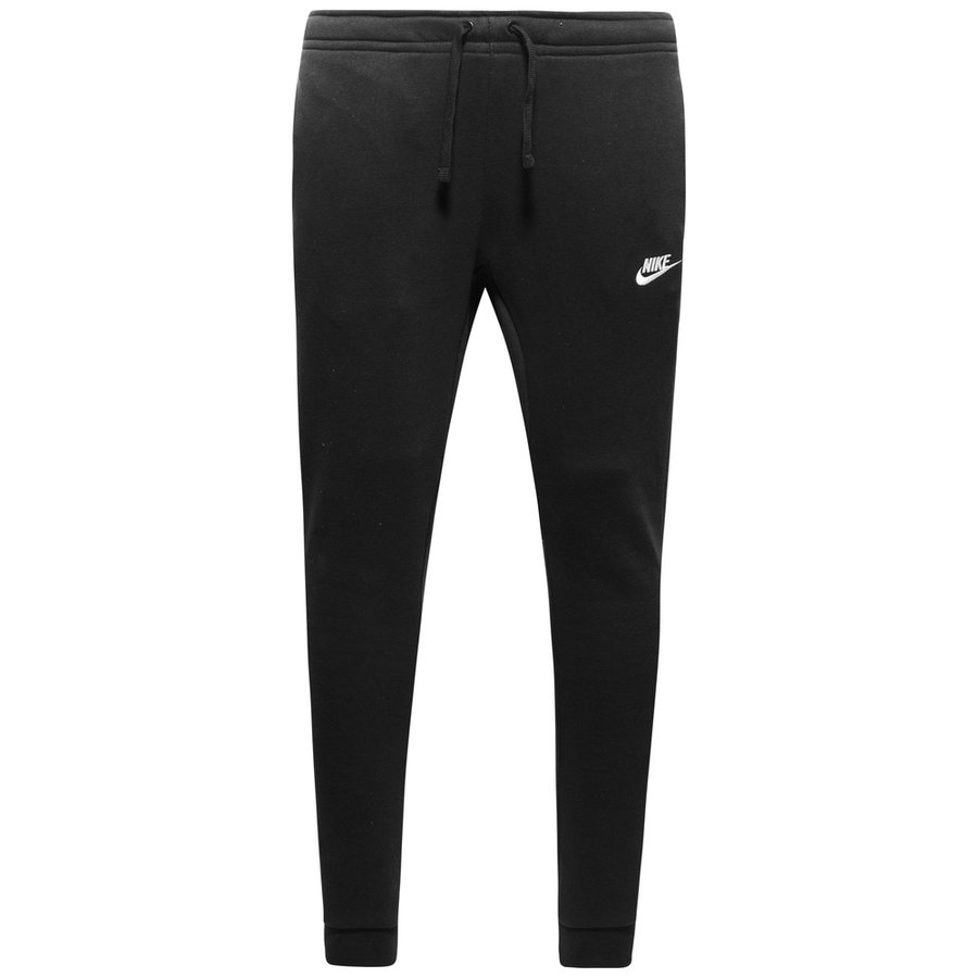 Nike NSW Sweatpants Fleece - Sort/Hvid thumbnail