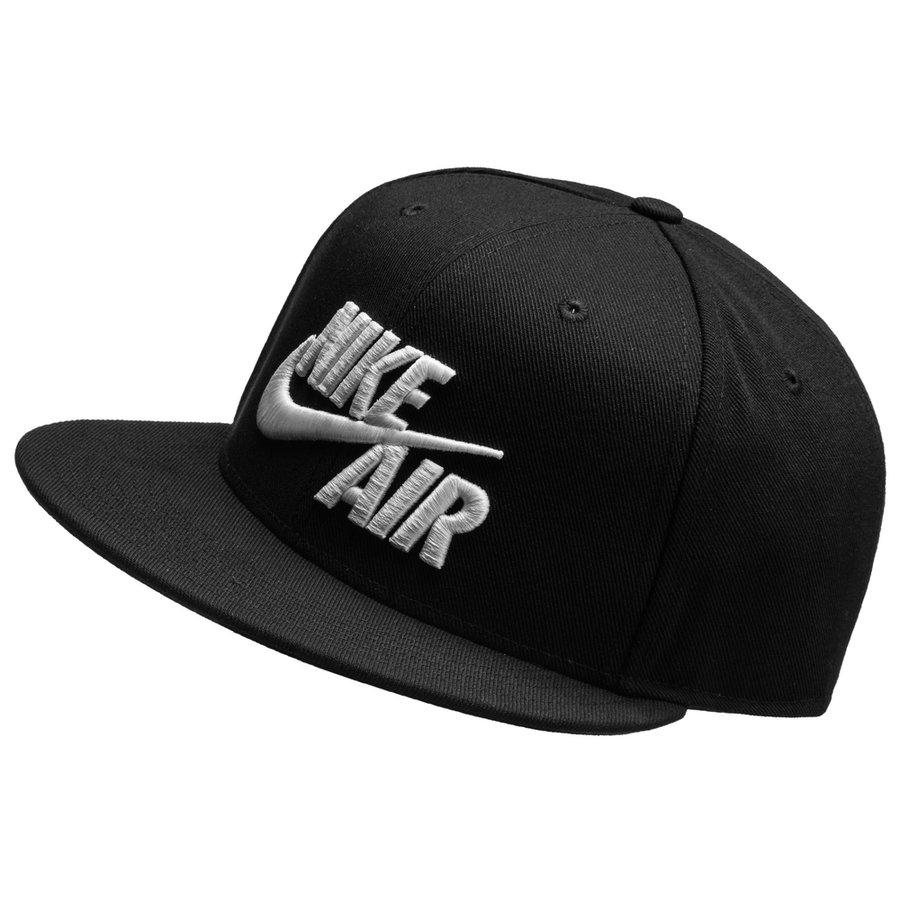 nike air cap true snapback classic - black white - caps ... 555f8ff76