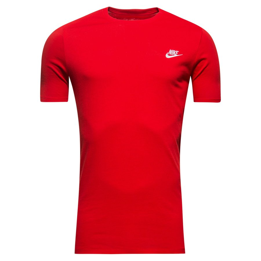 nike t shirt futura sport red white. Black Bedroom Furniture Sets. Home Design Ideas