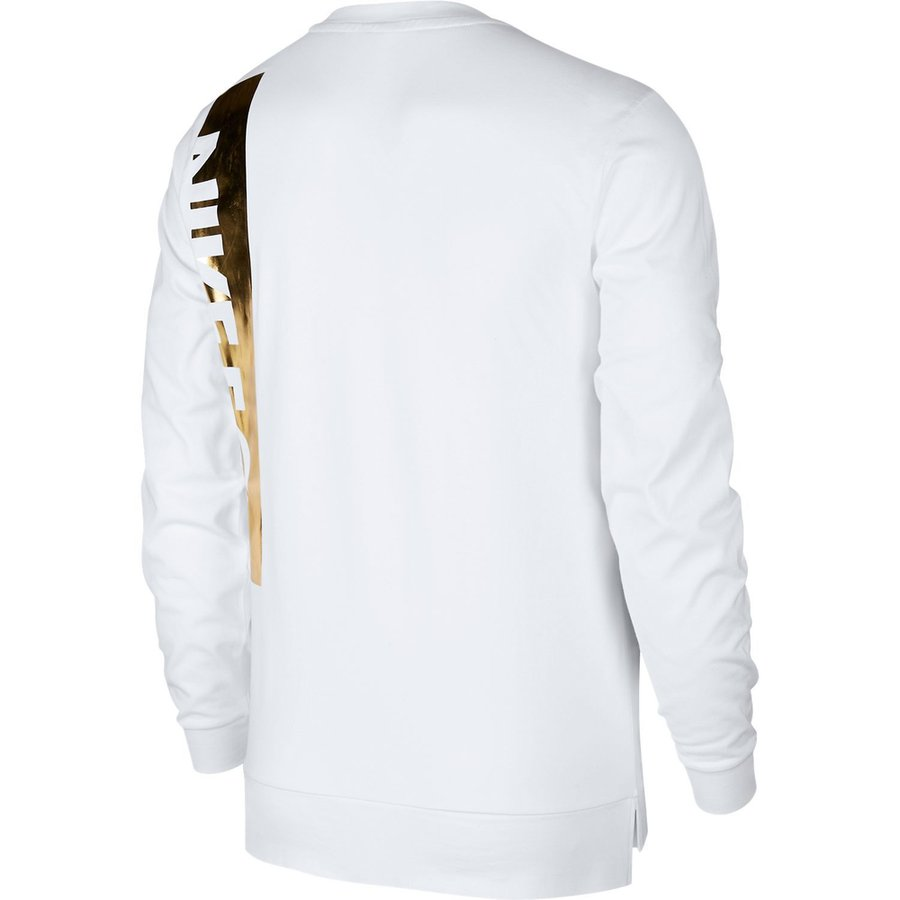 nike f c sweat shirt blanc. Black Bedroom Furniture Sets. Home Design Ideas
