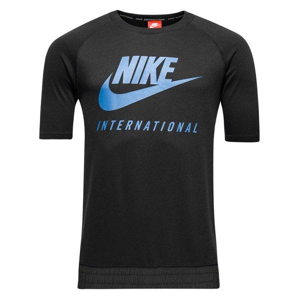 nike international t-shirt crew - sort - t-shirts