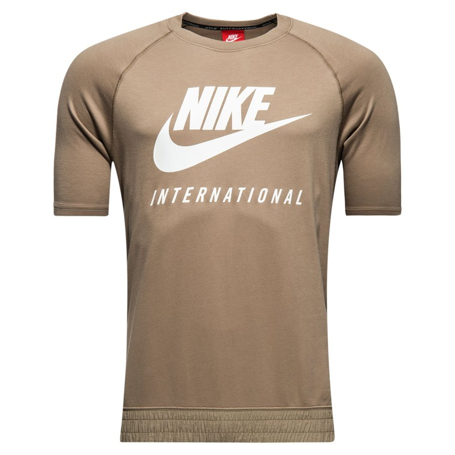 International Khaki T Shirt Crew Nike PBdnqAwfP