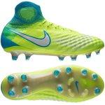 Nike Magista Obra II FG Motion Blur - Volt/White/Chlorine Blue Woman