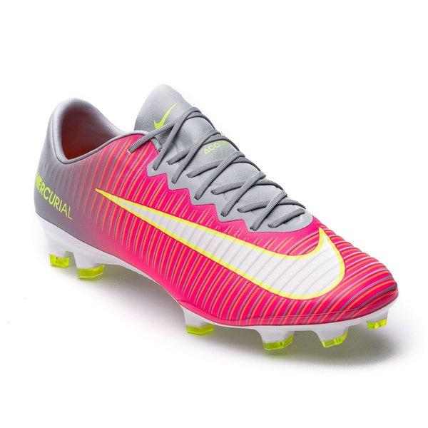 Nike Mercurial Vapor XI FG Motion Blur - Pink/Grau Damen | www ...