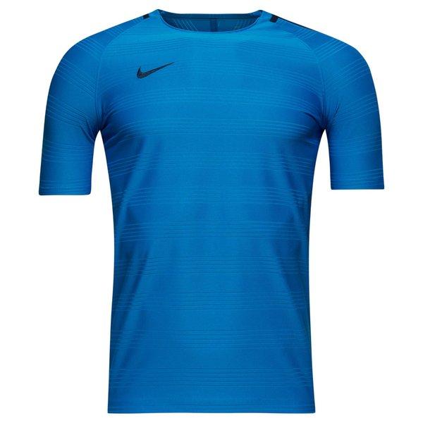 Nike Training T Shirt Dry Squad Lt Photo Blue Binary