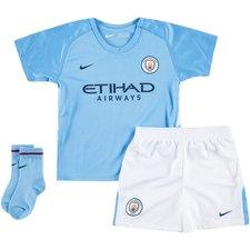 Manchester City Hemmatröja 2017/18 Mini-Kit Barn