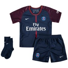Paris Saint-Germain Hemmatröja 2017/18 Mini-Kit Barn