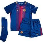 Barcelona Hjemmebanetrøje 2017/18 Mini-Kit Børn