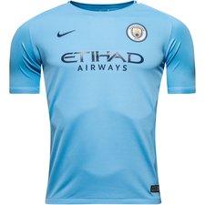 Manchester City Hemmatröja 2017/18 Barn