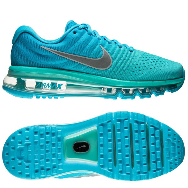 low priced ebd44 d7297 Nike Air Max 2017 - Chlorine Blue/White/Hyper Turquoise Kids ...