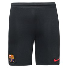 barcelona trainingsshorts dry squad - zwart/rood kinderen - voetbalshorts