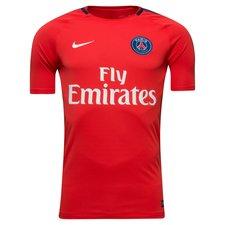 Paris Saint-Germain Tränings T-Shirt Breathe Squad - Röd/Navy