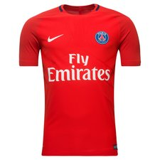 Paris Saint-Germain Tränings T-Shirt AeroSwift Strike - Röd/Navy