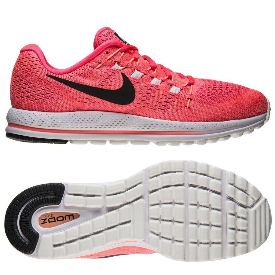 20ed103a0b822 nike running shoe air zoom vomero 12 - lava glow black racer pink  ...
