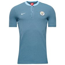 Image of   Manchester City Polo NSW Modern Authentic - Blå/Navy/Hvid