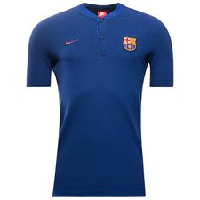 barcelona polo authentic grand slam - royal blue/binary blue/noble red - polo shirts