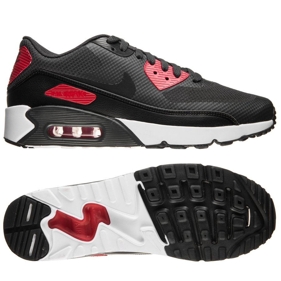 543f4239f66c nike air max 90 ultra 2.0 essential - anthracite black university red white  ...