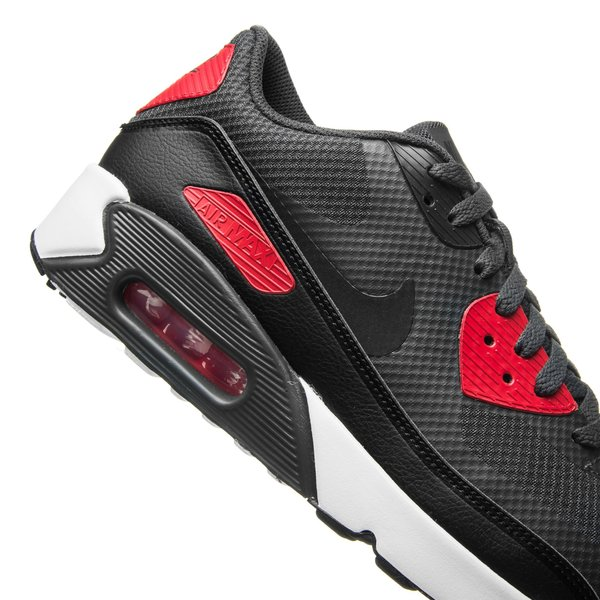 design de qualité 897fa dc80d Nike Air Max 90 Ultra 2.0 Essential - Gris/Noir/Rouge/Blanc ...