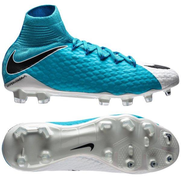 lowest price f9751 a5c51 Nike Hypervenom Phatal 3 DF FG Motion Blur - Vit Svart Blå