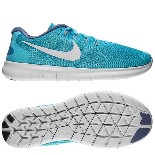 BlauWeißTürkis Nike Damen Free RN 2017 0PnkwO